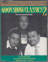 Goon Show Classics Two 2 Cassette BBC Audio Comedy Lurgi Strikes Britain Flea