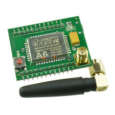 A6 GPRS GSM Module Adapter Board Plate Quad-band 850 900 1800 1900MHZ +Antenna