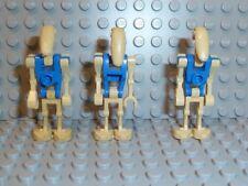 Lego ® Star wars figura 3x Battle Droid piloto Driver azul set 7929 7958 sw300 f254