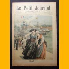 LE PETIT JOURNAL Suppl. illustré DJEDDAH Assassinat consuls 16 juin 1895