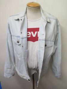 "VINTAGE Retro Grunge Levi's Red Tab Men's Denim Jacket Size M 38-40"" Euro 48-50"