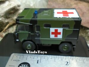 Oxford Diecast 1:76 Land Rover 101FC Ambulance British Army Rhine 76LRFCA004
