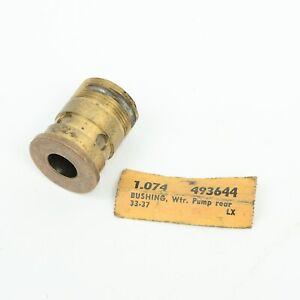 32-37 Pontiac Olds 6 Cylinder Water Pump Rear Bushing Bearing GM OEM 433644 NOS
