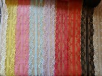Vintage style Floral Lace Ribbon Trim 1M- Craft-Wedding-Bridal-Cake  3 For 2