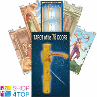 TAROT OF THE 78 DOORS DECK CARDS PLATANO ESOTERIC FORTUNE TELLING LO SCARABEO
