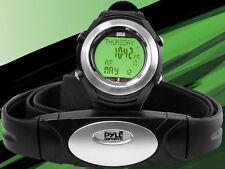 NEW PYLE PHRM20 Marathon Heart Rate Watch W/USB and Walking/Running Sensor