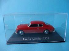 LANCIA AURELIA - ROJO RED - TAPA DE METACRILATO - 1953 - 1/43 NUEVO NEW IXO RBA
