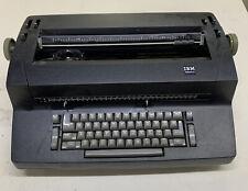 Ibm Correcting Selectric Ii Typewriter Black Turns On Please See Description