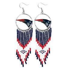 NFL Authentic New England Patriot Dreamcatcher Earrings Made by Little Earth New