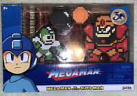 Mega Man vs Guts Man 8 Bit 2 Pack Jakks Pacific Free shipping#10