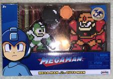 Mega Man vs Guts Man 8 Bit 2 Pack Jakks Pacific Free shipping#10