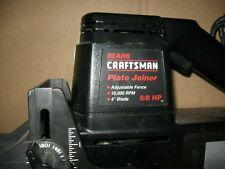 "Sears/Craftsman #315.175010 10,000-Rpm 5/8-HP 4"" Plate Joiner dustless"