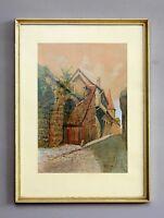 Aquarell Nürnberger Maler signiert Peter Pylipp # A-244