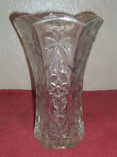 Thick Heavy Clear Glass Flower Vase Floral Arrangements