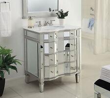 Benton Collection Ashley French Bathroom Sink Vanity Mirror Set Bwv 025 30