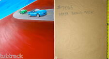 1991 TYCO MAZDA MIATA Original Slot Car Art Work 7063