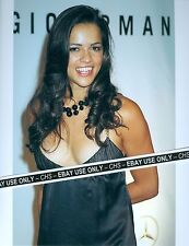 MICHELLE RODRIGUEZ VERY SEXY!! COLOR CANDID 8x10 PHOTO HOT LOWCUT DRESS!!