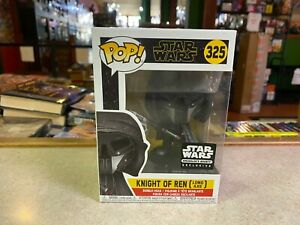 Funko POP! NIP Star Wars Smuggler's Bounty KNIGHT OF REN LONG AXE #325