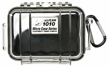 Pelican 1010 Micro Case, Black with Clear Lid, New, Free Shipping