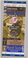 1995 NY Yankees Phantom World Series Full Ticket Game 5