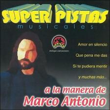 Grupo Musical De Exitos : Pistas: Marco Antonio CD
