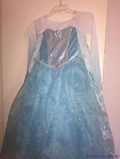 Authentic DISNEY store  FROZEN Dress Costume Elsa  ❄️ Halloween Girls  9/10