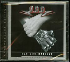 U.D.O. Man And Machine Anniversary Edition remaster CD new Accept udo