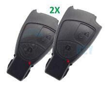 2X Schlüssel Gehäuse 2 Tasten W203 W211 W210 W209 W169 W245 Chiave Cle Key CDI