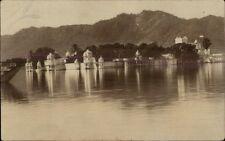 Udaipur India Used Real Photo Postcard