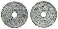 TUNISIE 10 centimes 1945