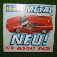 REVELL Metal  >> Neuheiten-Kleinkatalog 1988 << | Topzustand | deutsch | d58