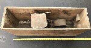 Vintage Planet Jr. No. 4 Seeder/Planter Antique Garden Tool W/Original Box
