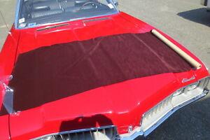 1985 Chevrolet Monte Carlo SS ORIGINAL!!! Seat Velour Cloth Fabric Maroon 1 1/2
