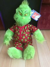 Build a Bear Workshop How The Grinch Stole Christmas & Pyjamas No Sound