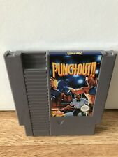 PUNCH-OUT NINTENDO NES GAME UK V PAL A *CART ONLY* VGC