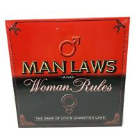 Man Laws And Woman Rules Adult Party Board Game Sealed New TDC Games Authentic