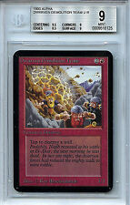 MTG Alpha Dwarven Demolition Team BGS 9.0 (9) Mint Card 9.5 centering 8125
