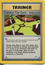 Pokemon Gym Heroes Uncommon Card #107/132 Cerulean City Gym