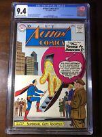 Action Comics #271 (1960) - Superman!! Lex Luthor!! - CGC 9.4!! - White Pages!!!