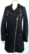 JUICY COUTURE WOOL MELTON COAT Wollmantel Jacke Mantel Damen GrXS NEU mit ETIKET