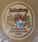 VINTAGE GERMAN BEER LABEL - SCHLOSS KALTENBERG KONIGLICH BIER - GOLD