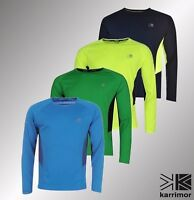 Mens Karrimor Running Breathable Long Sleeved T Shirt Sizes from S to XXL