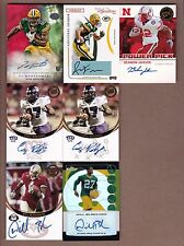 Lot of 11 DIFF. Green Bay Packers AUTOGRAPHED / RARE ROOKIE CARDS - $160.00 AUTO