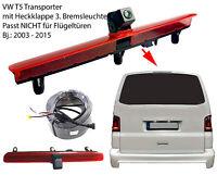 Rückfahrkamera Transporter Multivan Volkswagen VW T5 3. Bremsleuchte Heckklappe