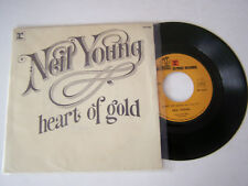 SP 2 TITRES , VINYLE 45 T , NEIL YOUNG , HEART OF GOLD . VG  / VG +