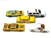 Lot of 5 Vintage Diecast Toy Cars Matchbox Hot Wheels Racing Champions