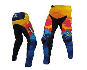 Pantalon moto cross ENFANT TAILLE 22 8/9ans MELDESIGN