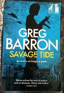 SAVAGE TIDE by Greg Barron