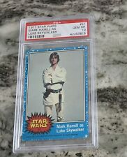 "1977 Topps Star Wars #57 Mark Hamill As Luke Skywalker PSA 10 "" HIGH END """