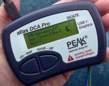 New Peak DCA75 Pro Latest Advanced Semiconductor Analyzer w Curve Tracing Atlas